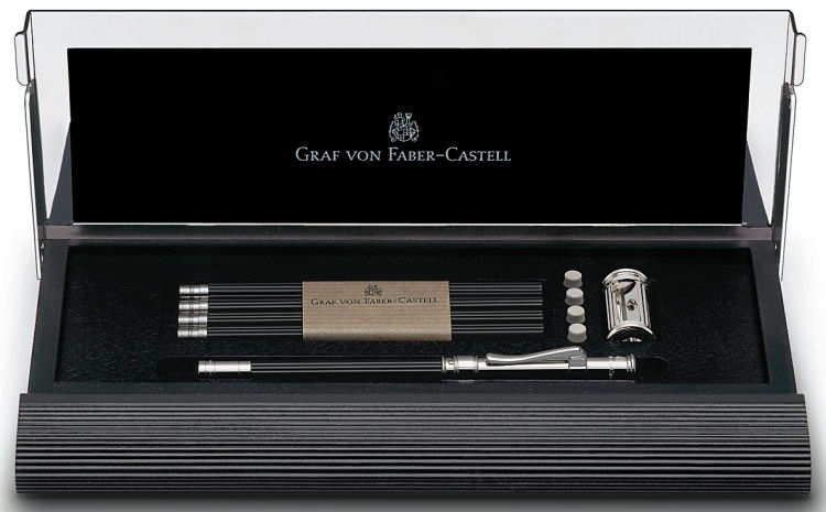 Graf von Faber Castell Perfect Pencil Desk Set No. 1, Black