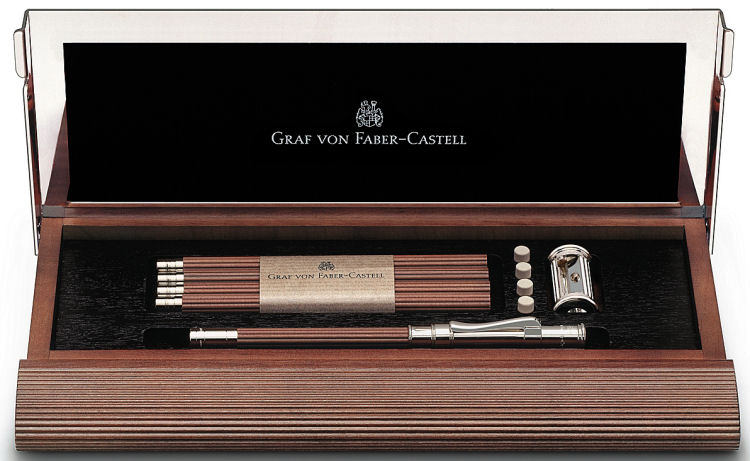 Graf von Faber Castell Perfect Pencil Desk Set No. 1, Natural