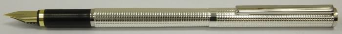 MS514 Silver plated Fountain Pen, boxed.  (Medium)