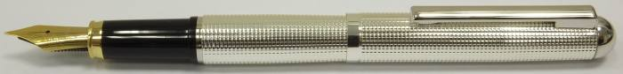 MS519 Silver plated Fountain Pen, boxed.  (Medium)