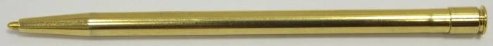 MS521 Smythson Gold Plated Diary Ballpoint Pen.