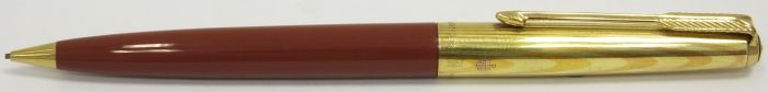 PA2275 Parker 61 Heirloom Pencil, Rainbow Cap, boxed.